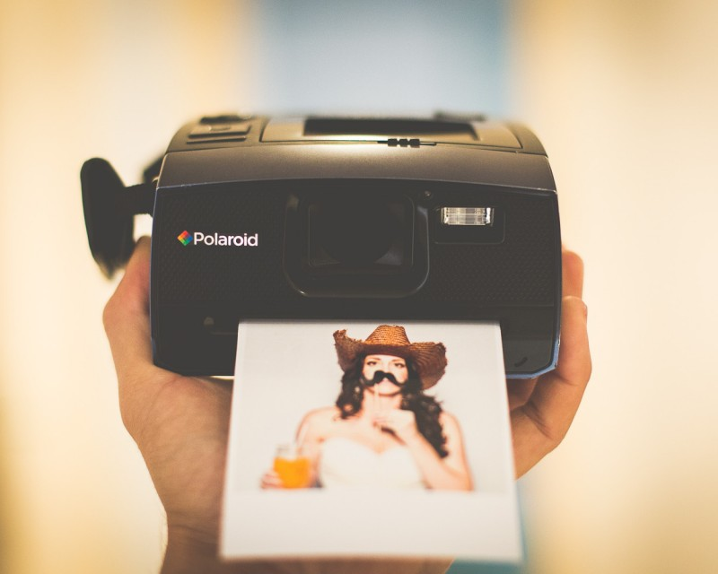 animation photo polaroid en corse