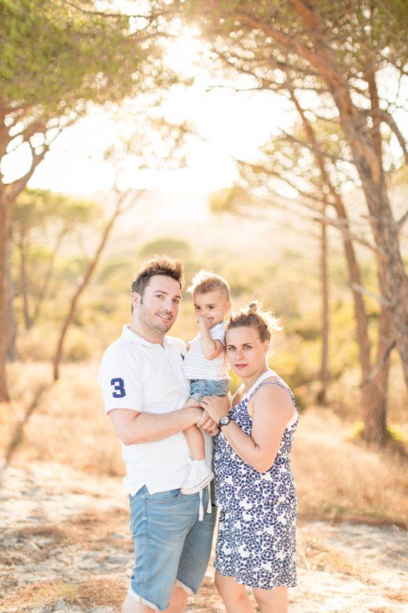 photo de famille en corse