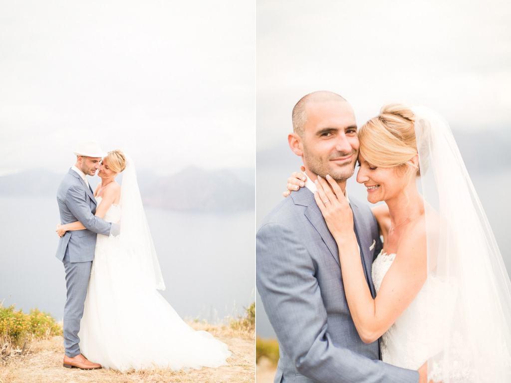 Mariage sur la plage d'Arone