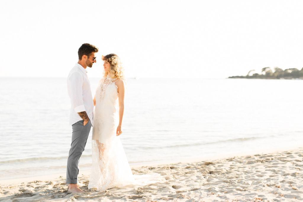 mariage plage ariadne sanguinaires corse