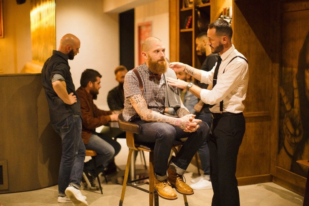 Shooting Gentlemen Barber