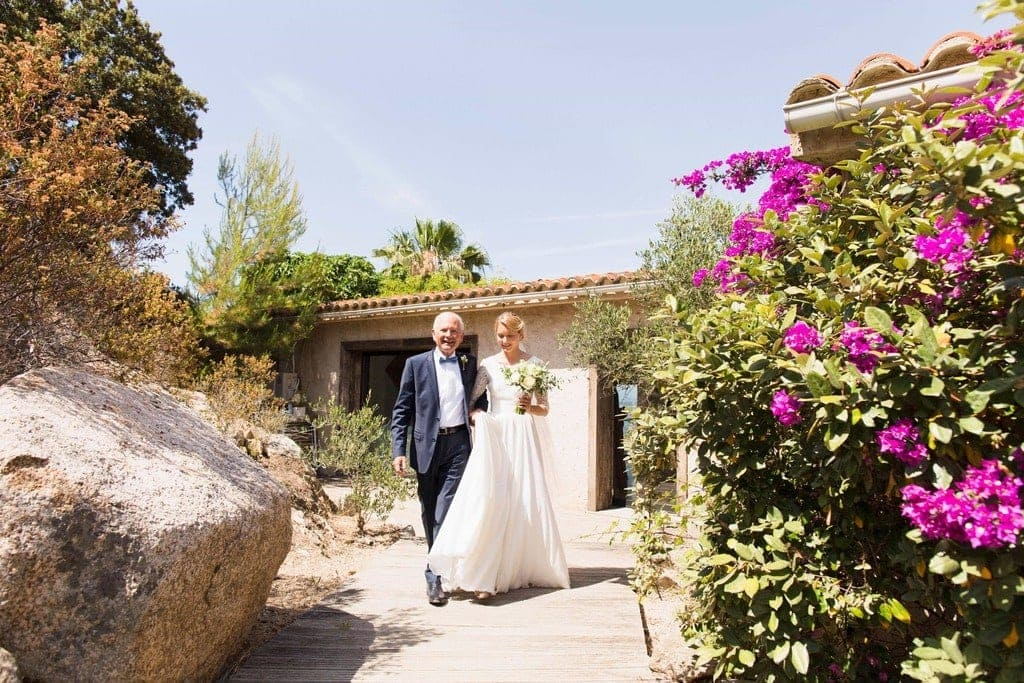 Mariage a Lagnonu en Corse