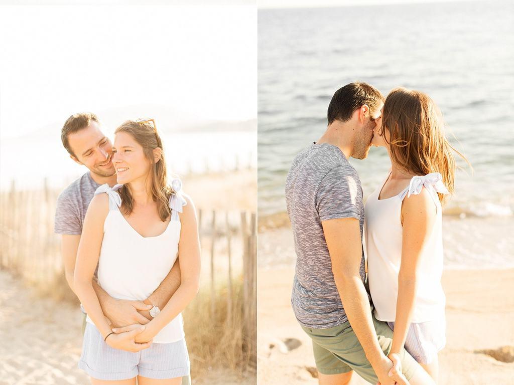 Séance engagement mariage Ajaccio
